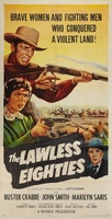 The Lawless Eighties movie poster (1957) picture MOV_4234bfc0