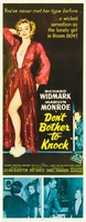 Don't Bother to Knock movie poster (1952) picture MOV_bfde5ad7
