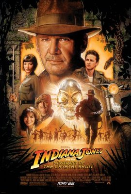 Indiana Jones and the Kingdom of the Crystal Skull movie poster (2008) poster MOV_425f3414