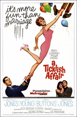 A Ticklish Affair movie poster (1963) poster MOV_426404be