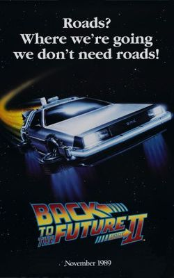 Back to the Future Part II movie poster (1989) poster MOV_427d046d