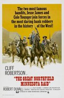 The Great Northfield Minnesota Raid movie poster (1972) picture MOV_42801d8c