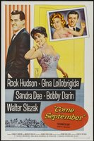 Come September movie poster (1961) picture MOV_42963b5e