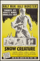 The Snow Creature movie poster (1954) picture MOV_34f72fb0