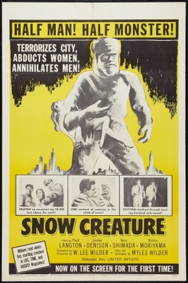 The Snow Creature movie poster (1954) poster MOV_42999b6f