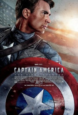 Captain America: The First Avenger movie poster (2011) poster MOV_42cc85c8