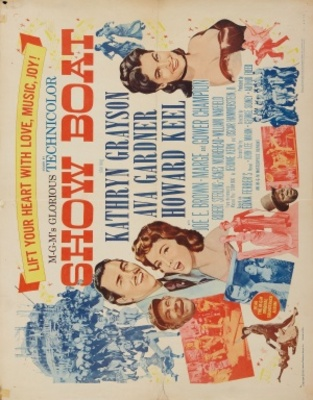 Show Boat movie poster (1951) poster MOV_430484d9