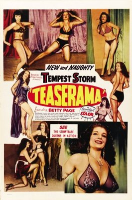Teaserama movie poster (1955) poster MOV_430808f9