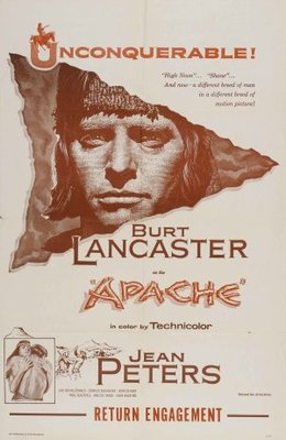 Apache movie poster (1954) poster MOV_4314aac2