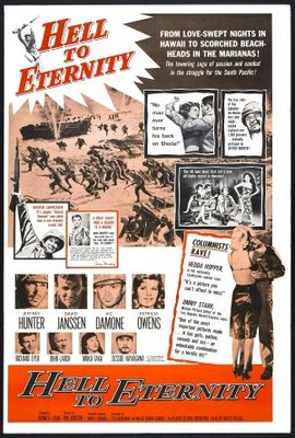 Hell to Eternity movie poster (1960) poster MOV_4316b88f