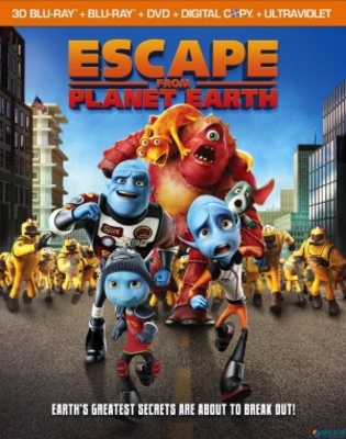 Escape from Planet Earth movie poster (2013) poster MOV_432033a7