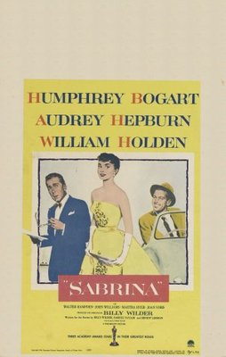 Sabrina movie poster (1954) poster MOV_432f67ef