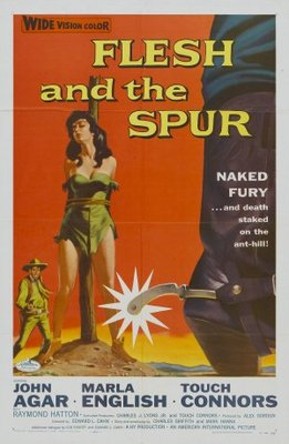 Flesh and the Spur movie poster (1957) poster MOV_4344db10
