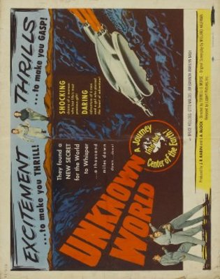 Unknown World movie poster (1951) poster MOV_434944a6