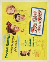 Two Gals and a Guy movie poster (1951) picture MOV_4350eb90