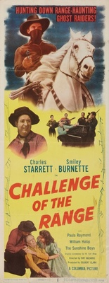 Challenge of the Range movie poster (1949) poster MOV_4353c442