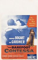 The Barefoot Contessa movie poster (1954) picture MOV_4355e7e6