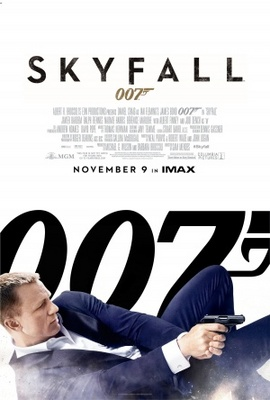 Skyfall movie poster (2012) poster MOV_43566542