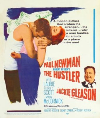 The Hustler movie poster (1961) poster MOV_43609c26