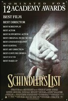 Schindler's List movie poster (1993) picture MOV_4385d4c4