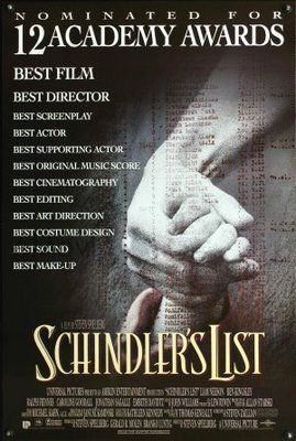 Schindler's List movie poster (1993) poster MOV_4385d4c4