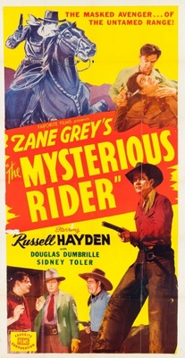 The Mysterious Rider movie poster (1938) poster MOV_43870eff