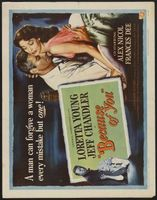 Because of You movie poster (1952) picture MOV_4389fbbd
