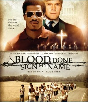 Blood Done Sign My Name movie poster (2010) poster MOV_439301bd