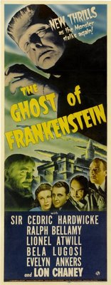 The Ghost of Frankenstein movie poster (1942) poster MOV_4397ef26