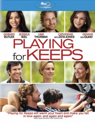 Playing for Keeps movie poster (2012) poster MOV_43ae5c12