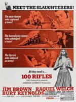 100 Rifles movie poster (1969) picture MOV_43c835e0