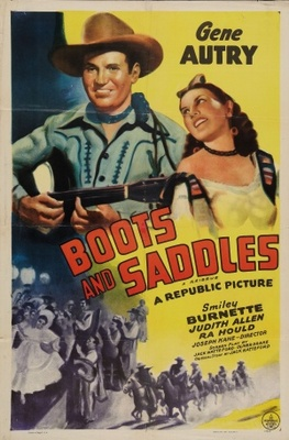 Boots and Saddles movie poster (1937) poster MOV_44026a59