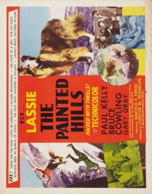 The Painted Hills movie poster (1951) poster MOV_4405ec83