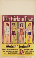 Four Girls in Town movie poster (1957) picture MOV_d676a209
