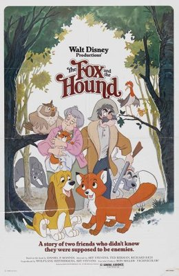 The Fox and the Hound movie poster (1981) poster MOV_443c8c24