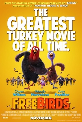 Free Birds movie poster (2013) poster MOV_44487b52