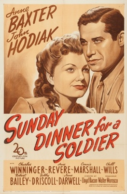 Sunday Dinner for a Soldier movie poster (1944) poster MOV_444daf05