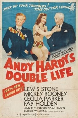 Andy Hardy's Double Life movie poster (1942) poster MOV_4450027e