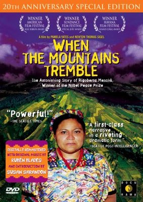 When the Mountains Tremble movie poster (1983) poster MOV_445fb8d6