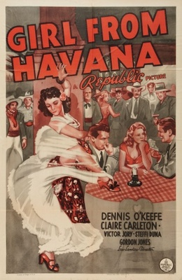 Girl from Havana movie poster (1940) poster MOV_446001dc