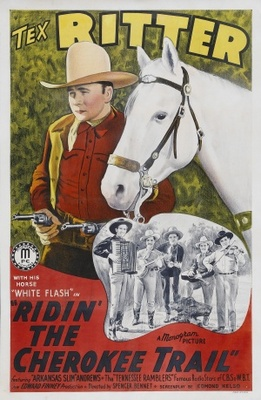 Ridin' the Cherokee Trail movie poster (1941) poster MOV_446a2748