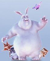 Big Buck Bunny movie poster (2008) picture MOV_446af38f