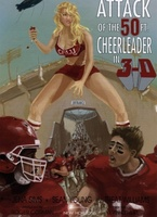 Attack of the 50ft Cheerleader movie poster (2012) picture MOV_446ba8e0