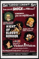 Night of Bloody Horror movie poster (1969) picture MOV_446f8498