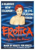 Erotica movie poster (1961) picture MOV_44828f6f