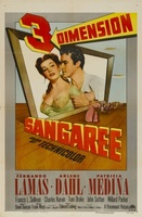 Sangaree movie poster (1953) picture MOV_448b9e94
