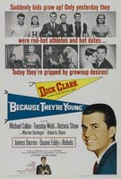 Because They're Young movie poster (1960) picture MOV_4490e670