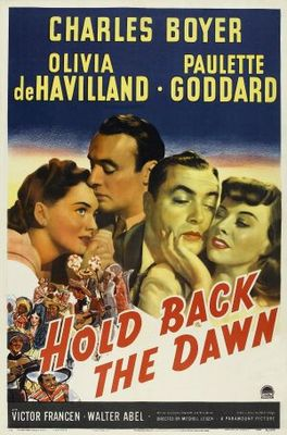 Hold Back the Dawn movie poster (1941) poster MOV_4491d8e2