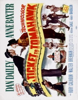 A Ticket to Tomahawk movie poster (1950) poster MOV_449ed58b