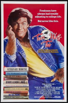 Teen Wolf Too movie poster (1987) poster MOV_44b1abee
